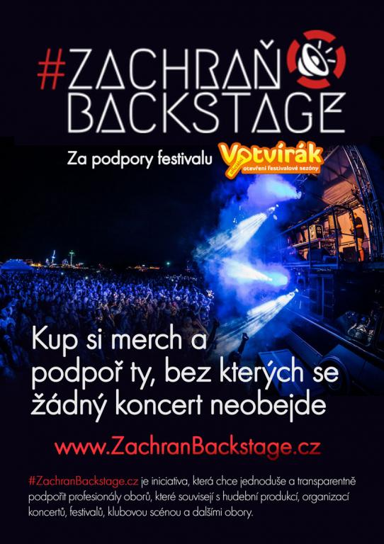 Zachraň backstage