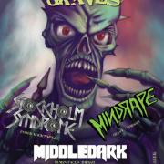 Night Of Open Graves - Middledark, Mindrape, Stockholm Syndrome