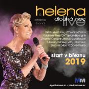 Helena Dlouhá noc tour 2018