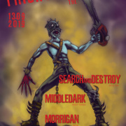 Frightday the 13th - Search and Destroy, Middledark, Morrigan