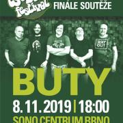 Buty a  finále soutěže Čs. beat-festivalu