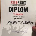 Silent Scream - vítězství v soutěži ZUŠ Fest 2016