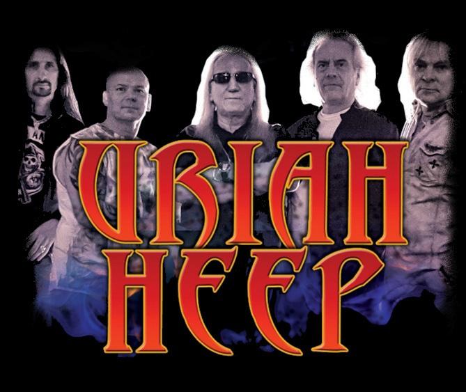 Uriah Heep v Táboře