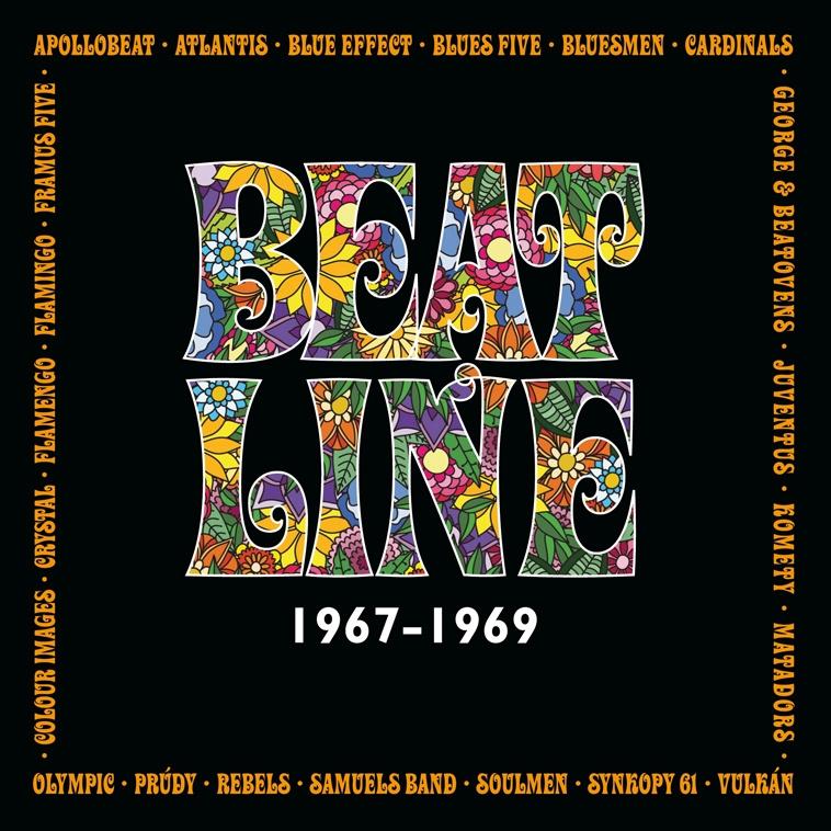 2CD Beatline-Mapa bigbítu let 1967-1969