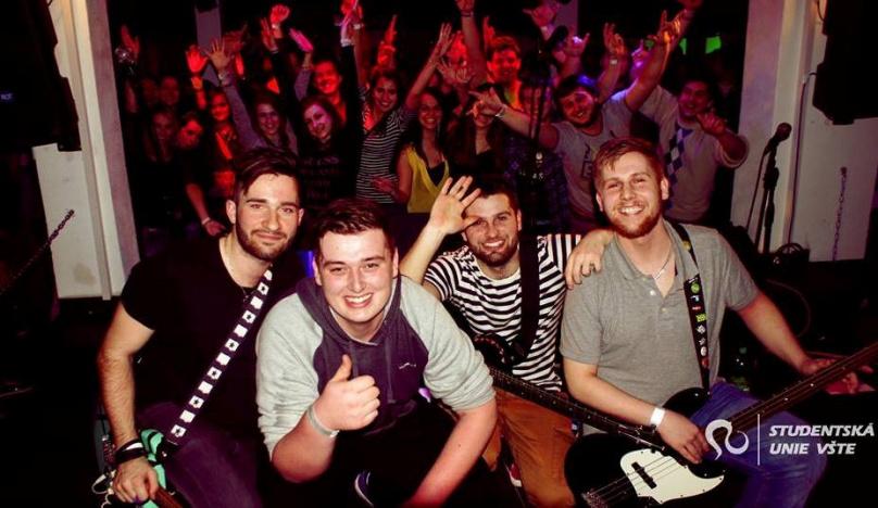Boj kapel v Českých Budějovicích na University band contest