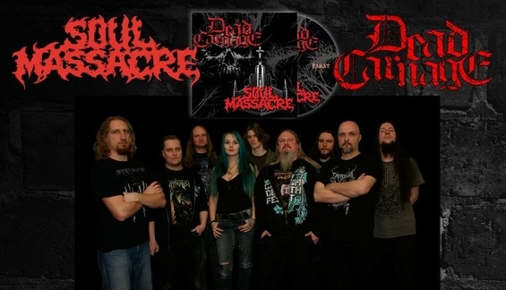 DEAD CARNAGE / SOUL MASSACRE – The Only Thing I Ever Wanted Was To Kill The God / 1000 Ways To Die (Split CD 2016)