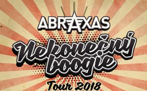 Abraxas vyrazí na Nekonečný boogie tour 2018