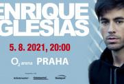 Enrique Iglesias se vrací do Prahy! V O2 areně vystoupí 5. srpna 2021