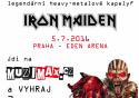 Soutěž o 2 vstupenky na koncert skupiny IRON MAIDEN