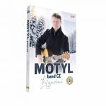 Komplet CD+DVD Vyznání skupiny MOTÝL band CZ 2019